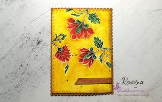 56. izziv FB Papirčkarice – Rdeče rože in napis