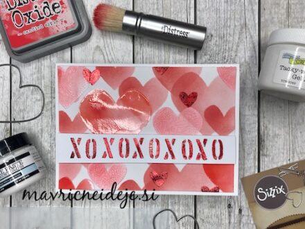 Valentinova voščilnica - XOXOXO