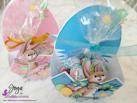 Vaessen Creative - pirhi, zajčki in rožice
