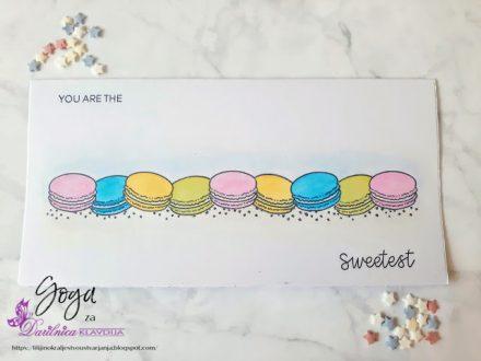 61. izziv FB Papirčkarice – akvarelno barvanje - Goga