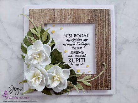 DRESS MY CRAFT - Beli cvetovi - Goga